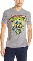 Nickelodeon Teenage Mutant Ninja Turtles - Mens Leonardo Logo T-Shirt