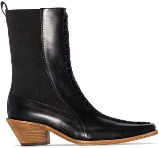 Haider Ackermann Ela 50mm ankle boots