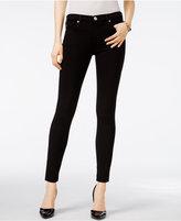 True Religion Halle Jet Black Wash Super-Skinny Jeans