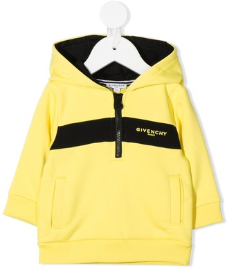 Givenchy Kids Logo Colour-Block Hoodie
