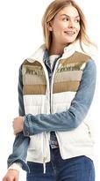 Gap ColdControl Max colorblock puffer vest
