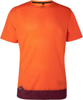 Soar Running - Colour-block Mesh T-shirt