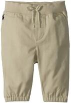Polo Ralph Lauren Cotton Jogger Pants (Infant) (Basic Sand) Boy's Casual Pants