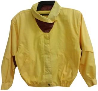 Christian Dior Yellow Cotton Jackets