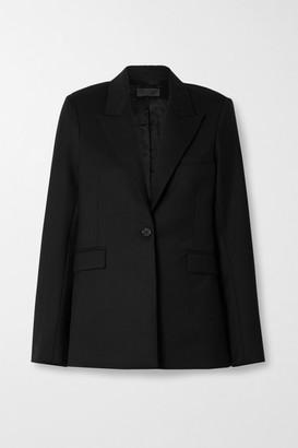 Nili Lotan Demna Wool-blend Twill Blazer - Black