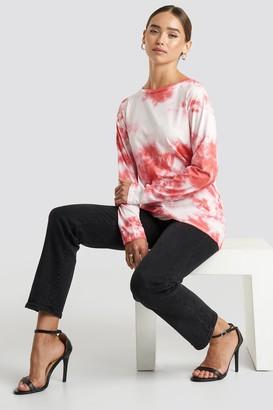NA-KD Tie Dye Long Sleeve T-shirt