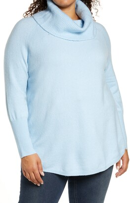 Caslon Cowl Neck Tunic Sweater