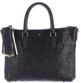 Anya Hindmarch Woven Leather Tote