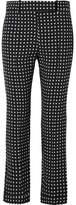 Haider Ackermann Polka-dot Crepe Straight-leg Pants - Black