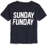 Kid Dangerous 'Sunday Funday' Graphic T-Shirt (Baby Boys)