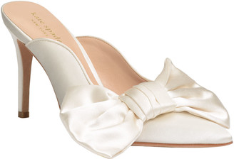Kate Spade Sheela Satin Bow Pumps