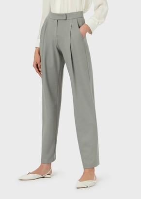 Emporio Armani Milano Stitch Trousers