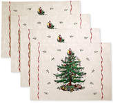 Spode Christmas Tree, Placemat, Created for Macy's, Set of 4