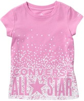 Converse Stars Knockout Tee (Little Girls)
