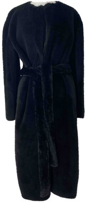 Givenchy Black Shearling Coat for Women