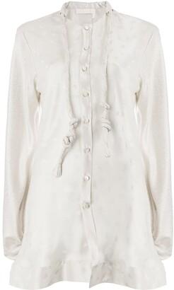 Chloé patterned blouse