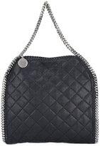 Stella McCartney quilted Falabella foldover tote