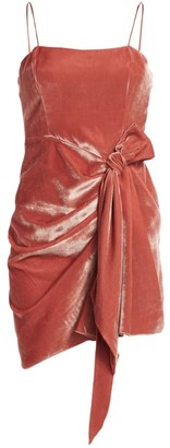Cinq à Sept Kiki Velvet Mini Dress