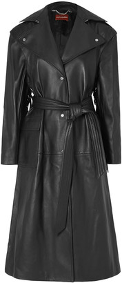 Altuzarra Dickson Fringed Leather Trench Coat