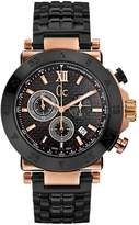 GUESS GC Structure Black & Rose Gold Timepiece Smart Luxury TM