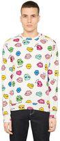 Au Jour Le Jour Lips Printed Cotton Sweatshirt