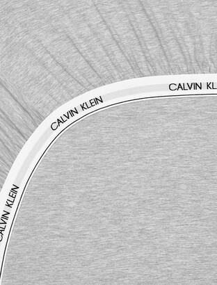 Calvin Klein Modern Cotton - Body Fitted Sheet In Grey