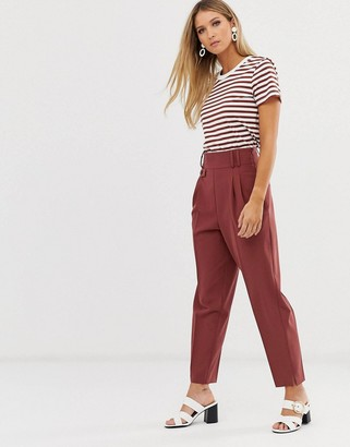 Asos Design DESIGN tailored smart high waist balloon trousers