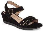 Athena Alexander Women's Cushe Studded Wedge Sandal