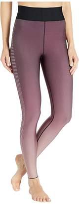 ULTRACOR Ultra High Mini Star Leggings (Gradient Wine/Metallic Rose) Women's Casual Pants
