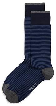 Marcoliani Milano Palio Stripe Crew Socks
