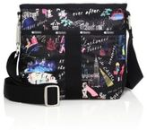 Le Sport Sac Essential Floral Nylon Crossbody Bag