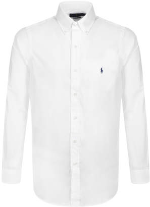 Ralph Lauren Long Sleeved Shirt White