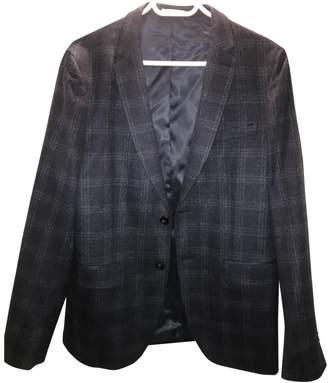 De Fursac Blue Cashmere Jackets