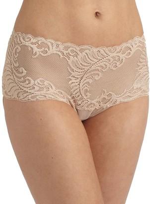Natori Women's Plus Size Feathers Brief Panty Cafe XLarge