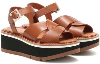 Clergerie Adelaide platform sandals