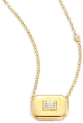 Shay Essentials Diamond & 18K Yellow Gold Pendant Necklace