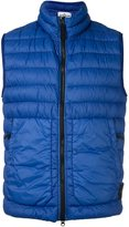 Stone Island high neck quilted gilet