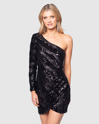 Pilgrim Women's Black Mini Dresses - Ludivica Mini Dress - Size One Size, 12 at The Iconic