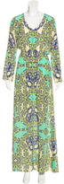 Alexis Abstract Print Maxi Dress