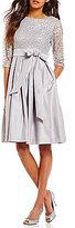 Jessica Howard Soutache Taffeta Party Dress