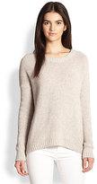Theory Clancia Grella Wool & Silk-Blend Sweater