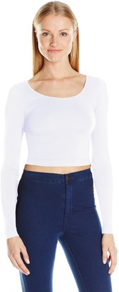 Sugar Lips Sugarlips Women's Long Sleeve Crop Top
