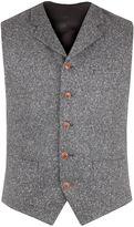 Gibson Grey Donegal Fleck Waistcoat
