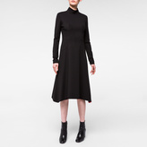 Paul Smith Women's Black Milano High-Neck Dress