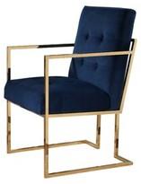Cambridge Silversmiths Takengon 18.7'' Armchair Mercer41 Fabric: 100% Polyester Blue
