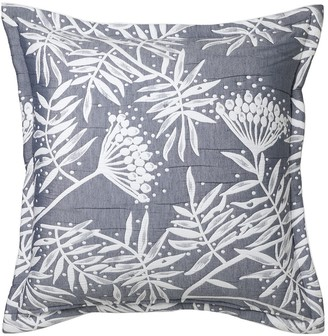 Private Collection Boronia Denim European Pillowcase 65 x 65cm