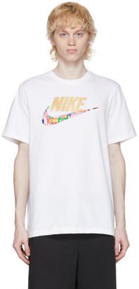 Nike White Sportswear Medal Swoosh T-Shirt