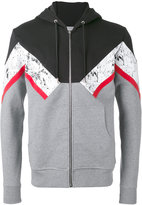 Christian Dior printed hoodie - men - Cotton - XL