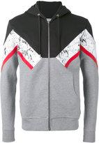 Christian Dior printed hoodie - men - Cotton - XXS