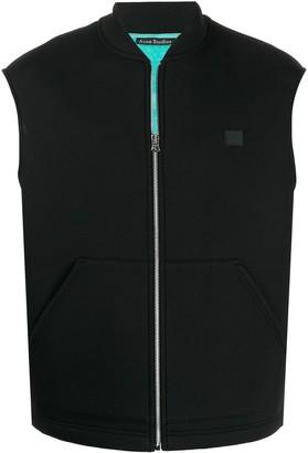 Acne Studios Bi-colour zipped vest